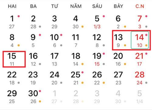 Tra lịch hôm nay để biết thông tin về âm lịch ngày hôm nay